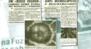 evora - Los microorganismos que calleron en Evora tras el paso de un OVNI