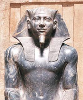 Estatua-faraon-Kefren